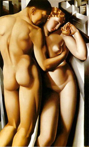 Tamara de Lempicka (inspired by) - Adam and Eve, 1932
