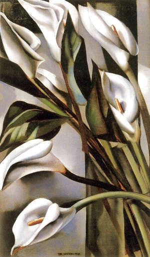 Tamara de Lempicka (inspired by) - Arums (1) 1931