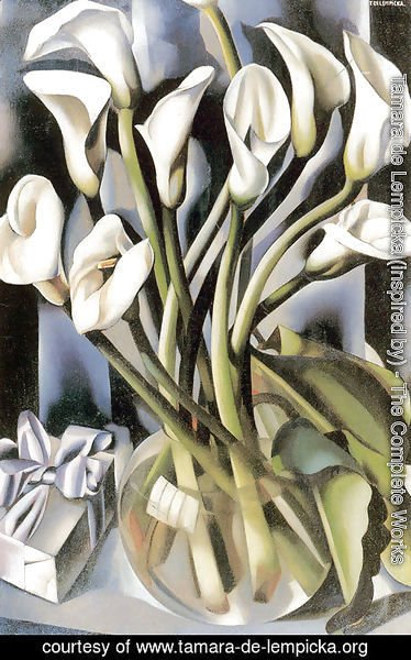 Tamara de Lempicka (inspired by) - Arums (2) c.1931