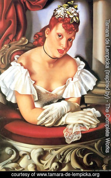 Tamara de Lempicka (inspired by) - At the Opera, 1941