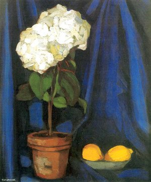 Bouquet of Hortensias and Lemon, c.1922