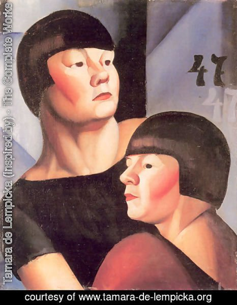 Tamara de Lempicka (inspired by) - Double 47, c.1924