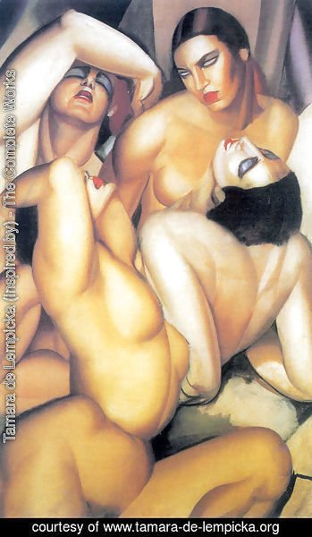 Group of Four Nudes, c.1925