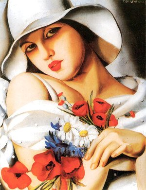 Tamara de Lempicka (inspired by) - High Summer, 1928