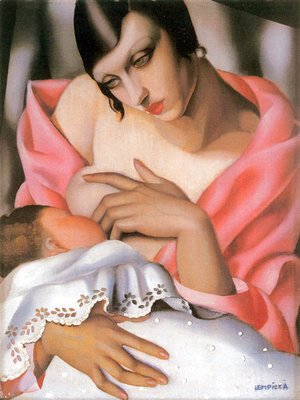 Tamara de Lempicka (inspired by) - Maternity, 1928