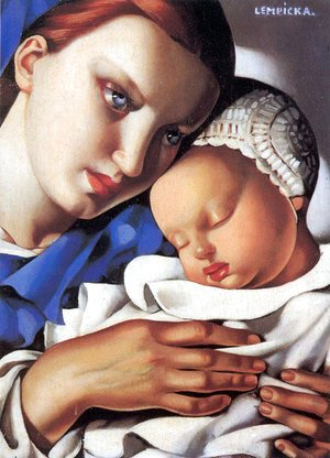 Tamara de Lempicka (inspired by) - Mother and Child, 1931