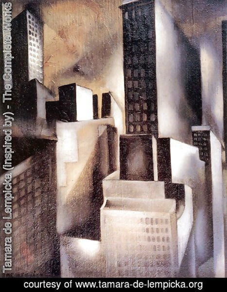 Tamara de Lempicka (inspired by) - New York, c.1929