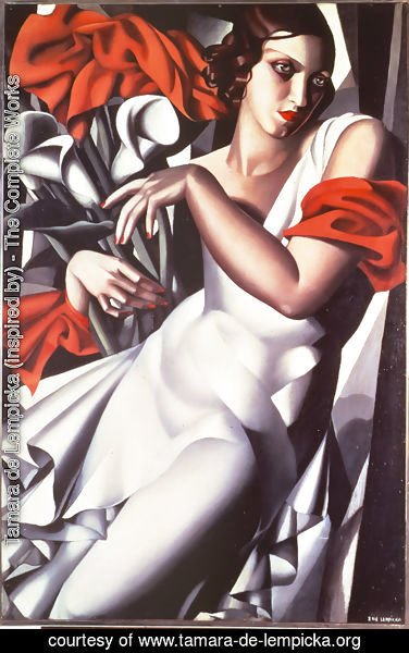 Tamara de Lempicka (inspired by) - Portrait of Ira P, 1930