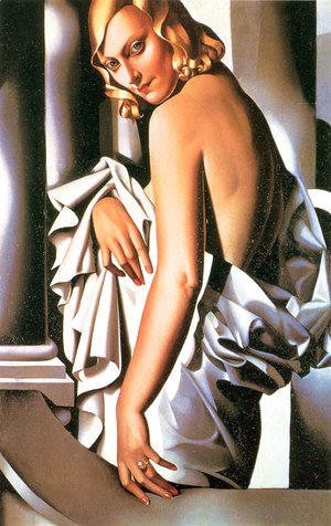 Tamara de Lempicka (inspired by) - Portrait of Marjorie Ferry, 1932