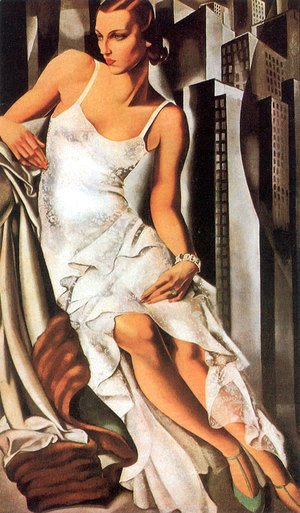 Tamara de Lempicka (inspired by) - Portrait of Mrs Allan Bott, 1930