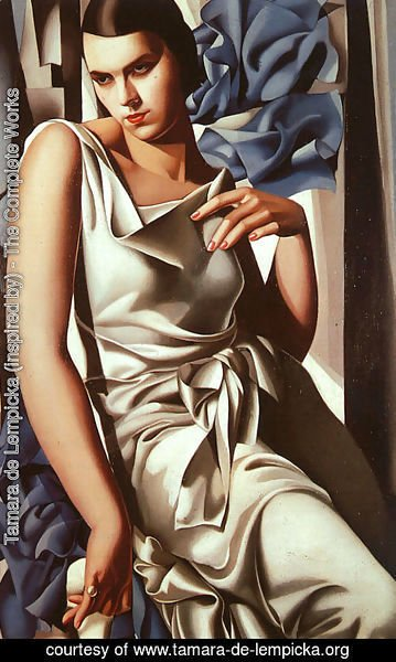 Tamara de Lempicka (inspired by) - Portrait of Mrs M, 1932