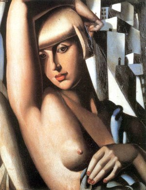 Tamara de Lempicka (inspired by) - Portrait of Suzy Solidor, 1933