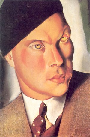 Tamara de Lempicka (inspired by) - Portrait of the Count of Furstenberg Herdringen, 1928