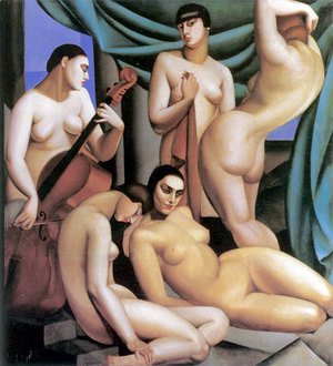 Tamara de Lempicka (inspired by) - Rhythm, 1924