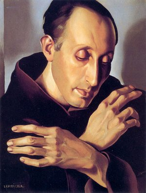 Tamara de Lempicka (inspired by) - Saint Anthony, c.1936