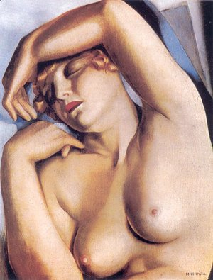 Tamara de Lempicka (inspired by) - Sleeping Girl, c.1930