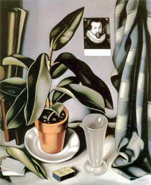 Tamara de Lempicka (inspired by) - Succulent and Flask, c.1941