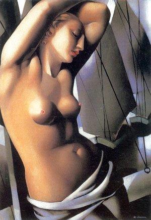 Tamara de Lempicka (inspired by) - The Blue Hour, 1931