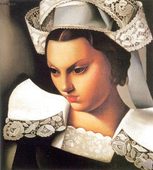 Tamara de Lempicka (inspired by) - The Breton Girl, 1934