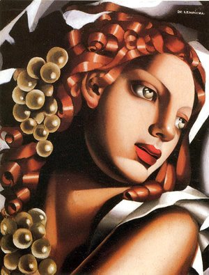 Tamara de Lempicka (inspired by) - The Brilliance, c.1932