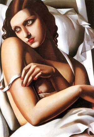 Tamara de Lempicka (inspired by) - The Convalescent, 1932