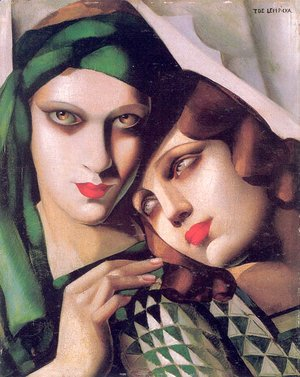 Tamara de Lempicka (inspired by) - The Green Turban, 1929