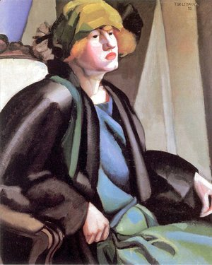 Tamara de Lempicka (inspired by) - The Gypsy, c.1923