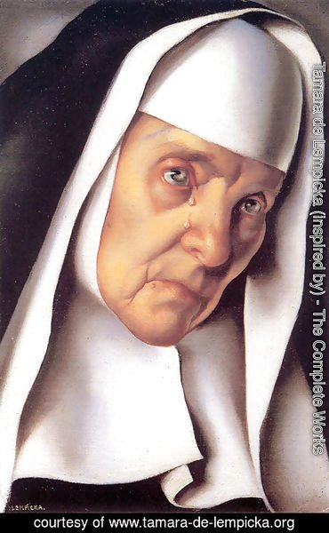 Tamara de Lempicka (inspired by) - The Mother Superior, 1935