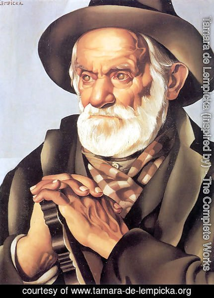 Tamara de Lempicka (inspired by) - The Peasant Man, c.1937