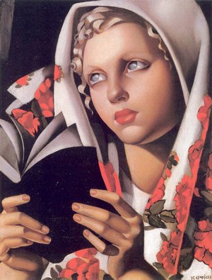 Tamara de Lempicka (inspired by) - The Polish Girl, 1933