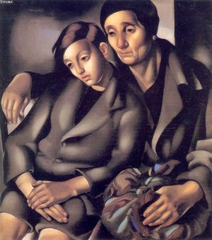 Tamara de Lempicka (inspired by) - The Refugees, 1931