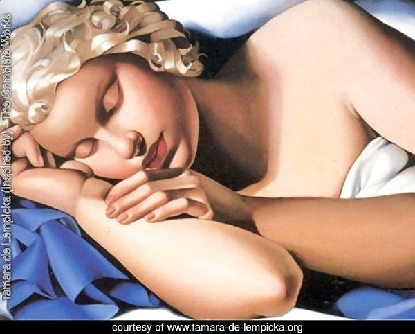The Sleeping Girl Kizette, c.1933