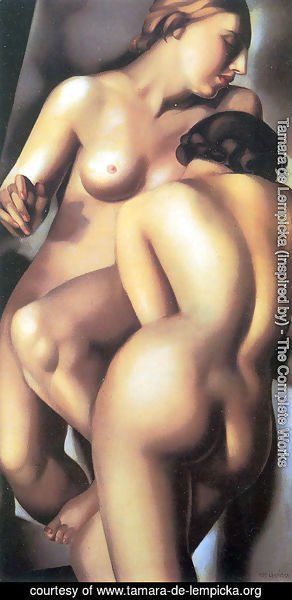 Tamara de Lempicka (inspired by) - The Two Girlfriends, 1930