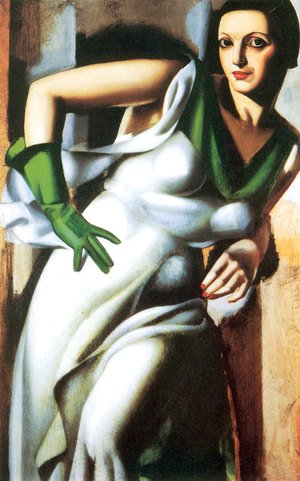 Woman with a Green Glove, 1928