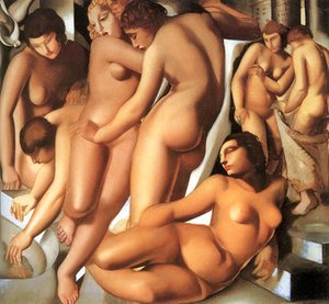 Tamara de Lempicka (inspired by) - Women Bathing, 1929