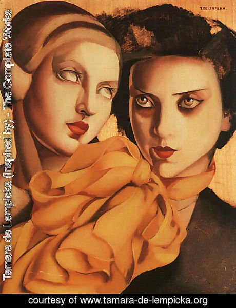 Tamara de Lempicka (inspired by) - Young Ladies