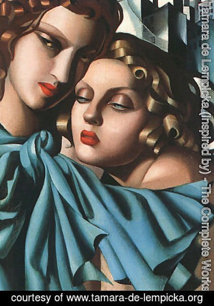 Tamara de Lempicka (inspired by) - Girls