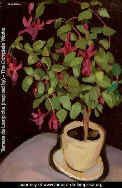 Pot of Fuchsias (Le pot de fuschias)