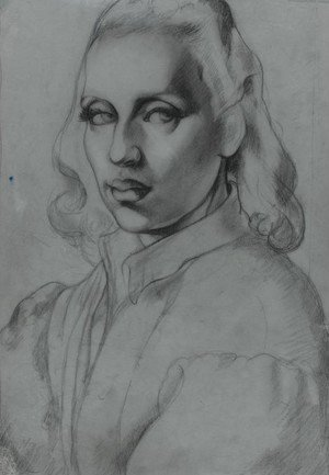 Tamara de Lempicka (inspired by) - Self-Portrait