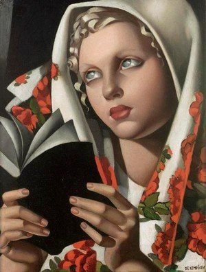 Tamara de Lempicka (inspired by) - Polish Girl (La Polonaise)