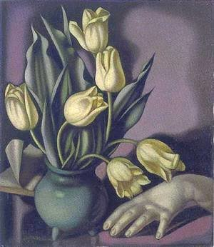 Tamara de Lempicka (inspired by) - Tulips (Tulipes)