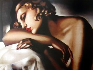 Tamara de Lempicka (inspired by) - La Dormeuse