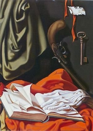 Tamara de Lempicka (inspired by) - Key and Hand